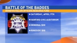 Battle of the Badges April 9th in Hanford