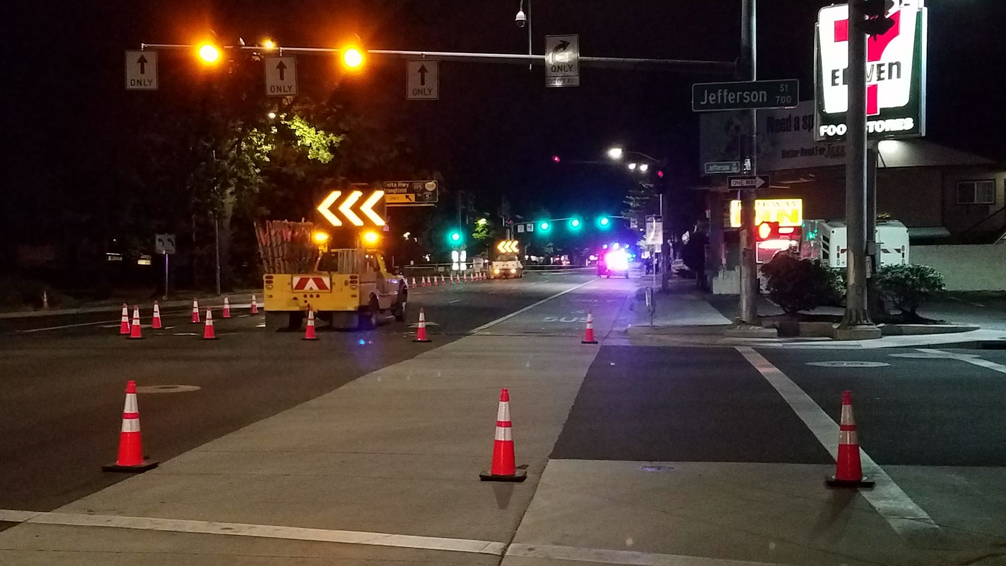 An early morning crash in Eugene resulted in one fatality, police said. (SBG)
