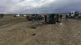 Man killed, woman flown to hospital after crash on Utah's I-70