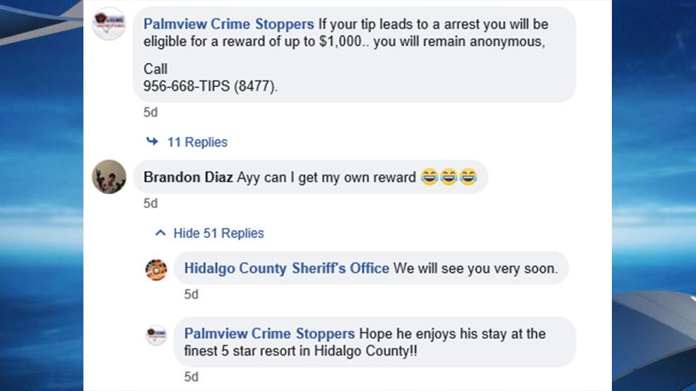 (Credit: Screenshot via Palmview Crime Stoppers Facebook)