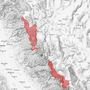 High avalanche danger in the Sierra Mountains