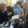 97-year-old 'Rosie the Riveter' shares lifetime tales with Girl Scouts at DCA