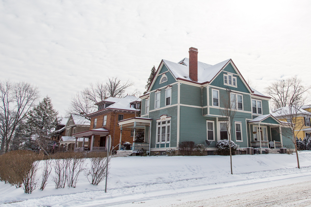 The Hyde Park neighborhood is known for many things: dining, shopping, an overarching sense of comfortable class, and (of course) its homes. An eclectic but cohesive mix of architectural styles, along with the neighborhood's easy breezy walkability, lend to its color, depth, and perennial charm. Even a stroll in midwinter is a sunny experience. (Image: Daniel Smyth Photography)