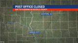 Ashton, IA post office temporarily closed following flooding