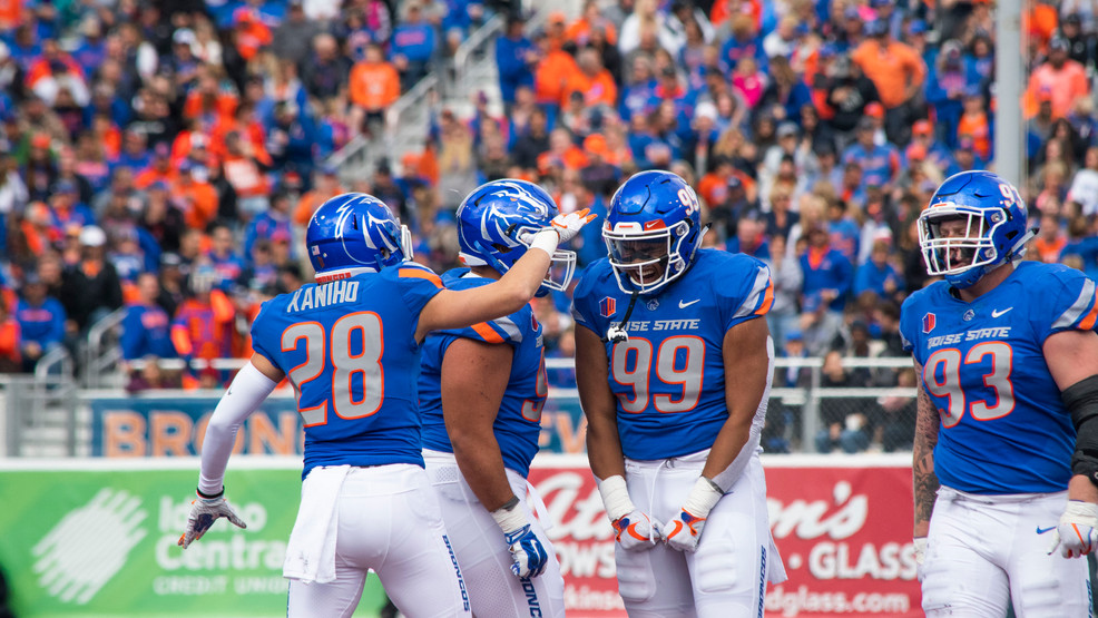 Boise State Football Schedule Released How About Three Straight
