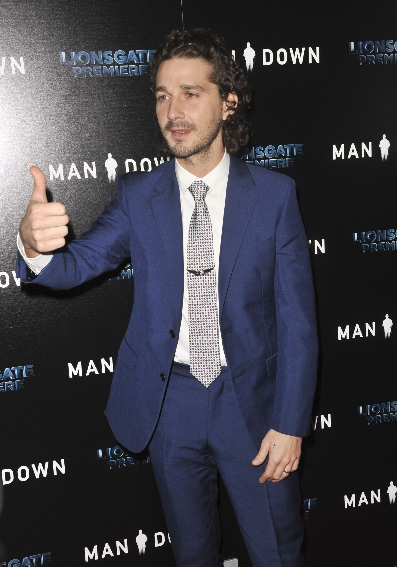 Film Premiere of 'Man Down' - Arrivals                                    Featuring: Shia LaBeouf                  Where: Los Angeles, California, United States                  When: 01 Dec 2016                  Credit: Apega/WENN.com