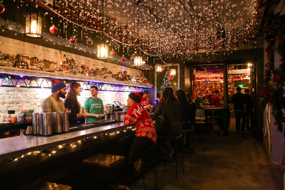 Dc Christmas Bar.Give Thanks The Christmas Pop Up Bar Is Back And Better