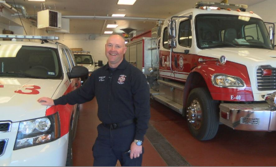 ABC 7 salutes District Chief Phillip Thomas who has served with the Amarillo Fire Department for 21 years. (Kase Wilbanks/ABC 7 Amarillo)