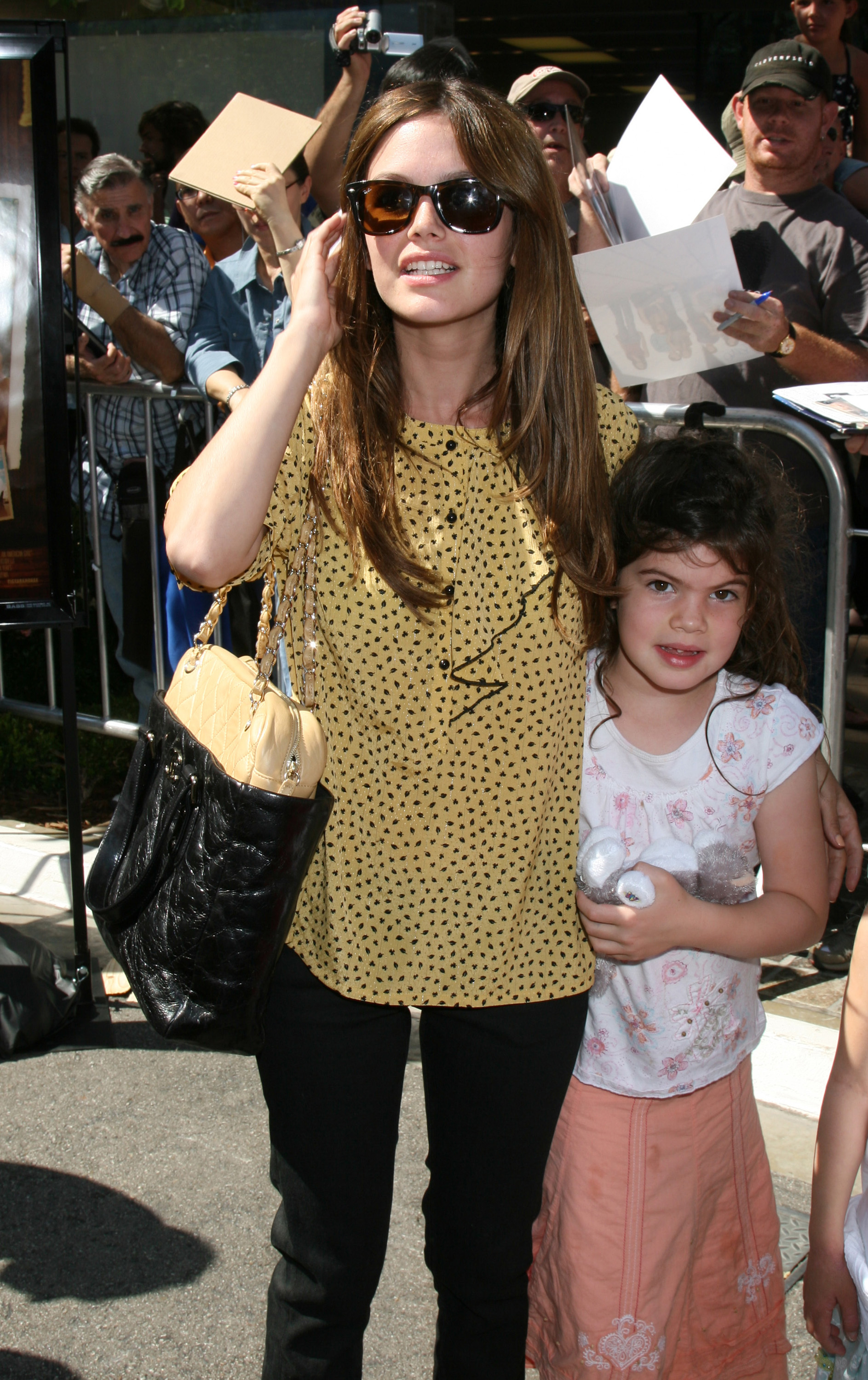 Rachel Bilson with her sister Premiere of Kit Kittredge held at The Grove Los Angeles, California - 14.06.08  Featuring: Rachel Bilson with her sister Where: United States When: 14 Jun 2008 Credit: Nikki Nelson/ WENN
