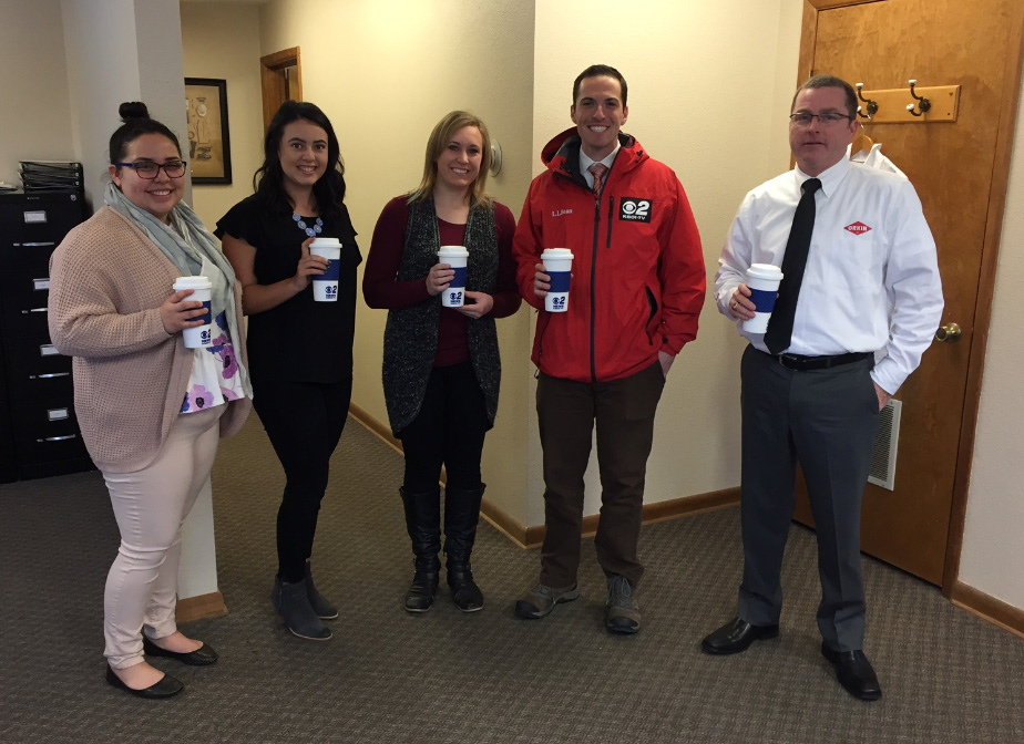 Mugshot Mondays: This week's winner is Orkin Pest Control in Garden City! Bryan Levin KBOI helped deliver free Dutch Bros. Coffee and KBOI mugs! Want your business to be next? Enter HERE: http://bit.ly/1UoKo3X