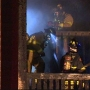 9 families evacuated, 1 person burned in Kirkland apartment fire