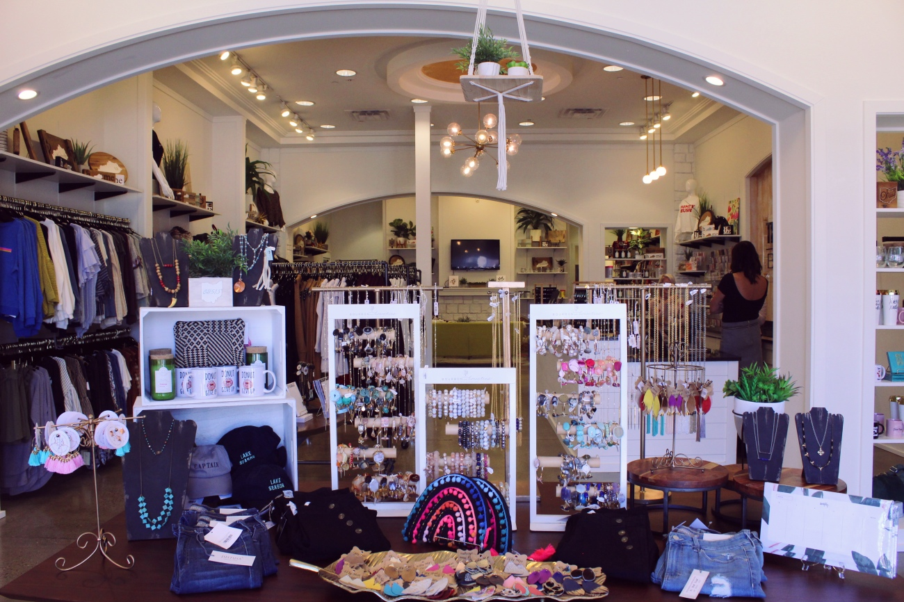 The Pretty Pony Boutique has had its lime green doors opened since November of 2017. Owner Cassie Kathman has always had a dream of bringing the best quality fashion to people at affordable prices, though. Charming apparel, a variety of jewelry, handbags made in India, and friendly hospitality are just a few of the unique things you'll find in her Crestview Hills shop. ADDRESS: 2837 Town Center Boulevard (41017) / Image: Katie Robinson, Cincinnati Refined // Published: 9.26.18