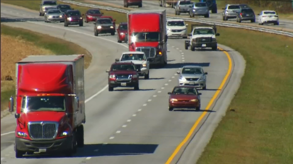 NC DOT: New truck restrictions coming to stretch of I-26