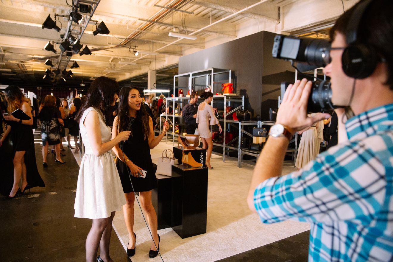 "Seattle fashionistas (and -istos) all wait for mid-summer every year - this is when the Nordstrom Fall Designer Fashion Show brings all it's glory to the city. We often take for granted the perks that come with the clothing giant being headquartered here, i.e. their fashion shows, star visits, and pop-ups. But as interesting as the actual shows are themselves, it's equally mesmerizing to watch the models get ready for their day ""of work"". Nordstrom kindly let us backstage as everyone got ready for the big night - check it out! (Image: Joshua Lewis / Seattle Refined)"