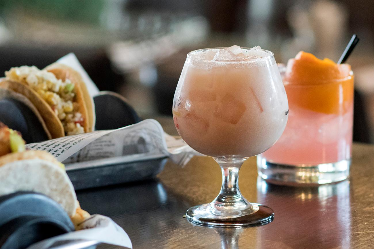 <p>Kentucky Weather Cocktail and Cero Miedo with tacos / Image: Allison McAdams // Published: 3.1.18</p>