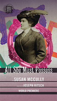 ALL SHE MUST POSSESS by Susan McCully and directed by Joseph Ritsch (Image: Rep Stage)<p></p>