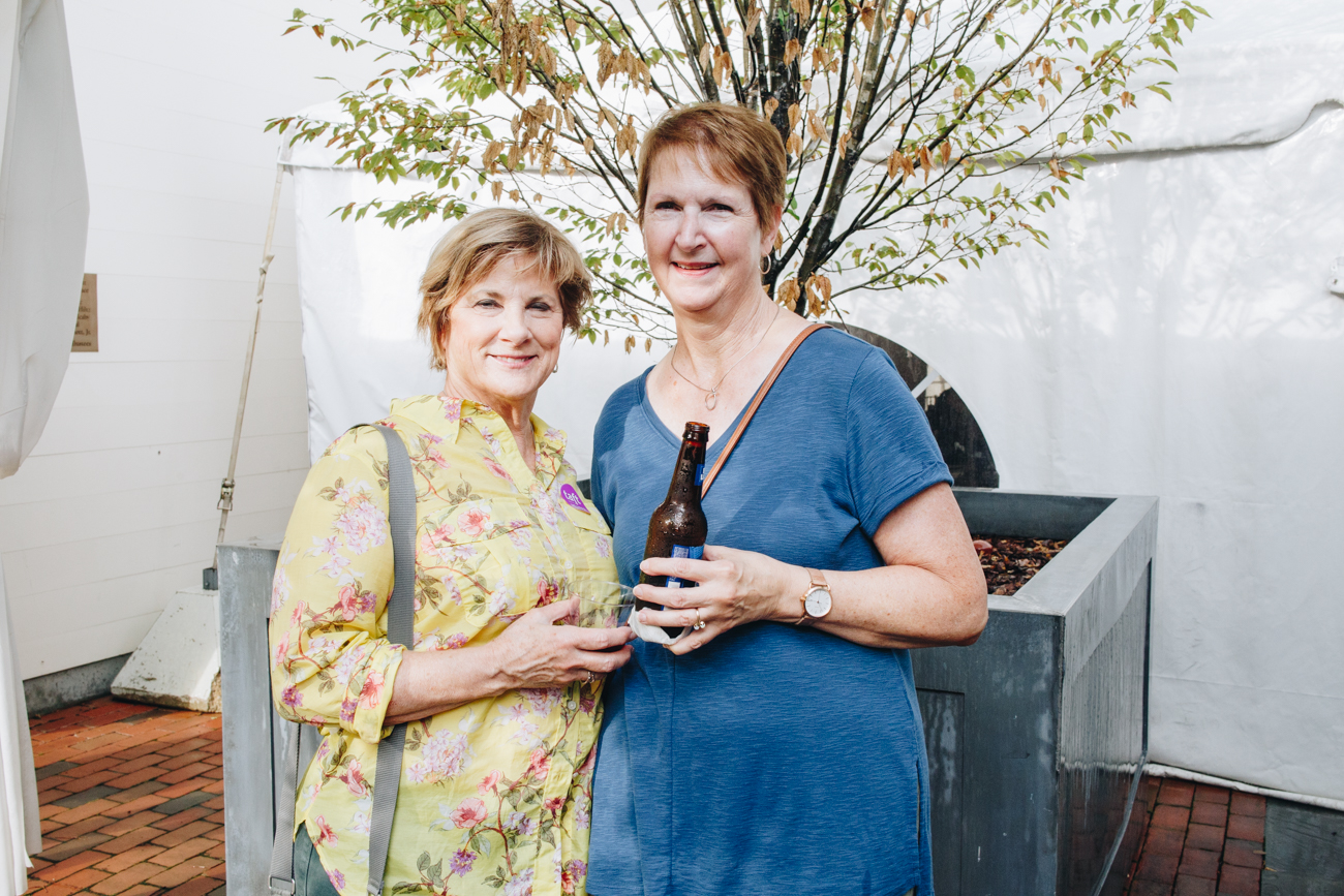Carol Parobek and Chris Garrett / Image: Catherine Viox // Published: 9.7.18