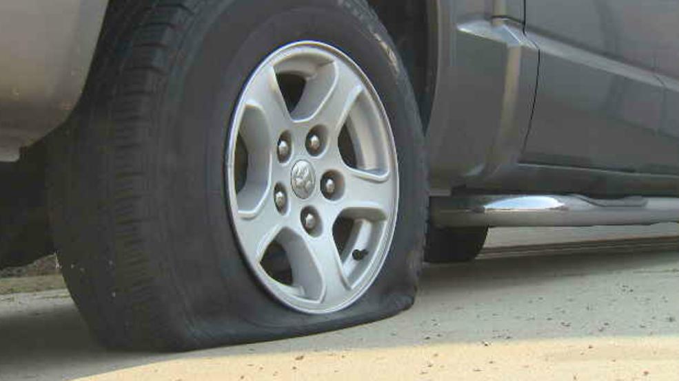 Vandal Slashes Car Tires In Fresno Neighborhood Kmph