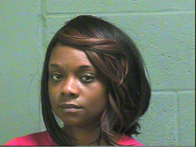 Arnetha Johnson, 29, was arrested in Oklahoma City on complaints of using access to computers and offering to engage in an act of prostitution.(Oklahoma County Jail)