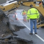 Run-off water washes away roads in Benton County, check for closures