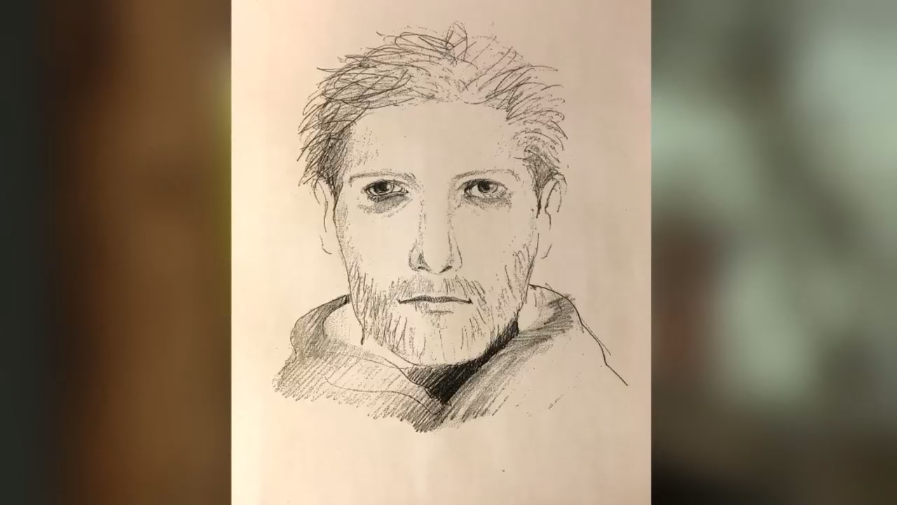 Investigators released a new sketch of a man caught masturbating north of Western Washington University late last week<p></p>