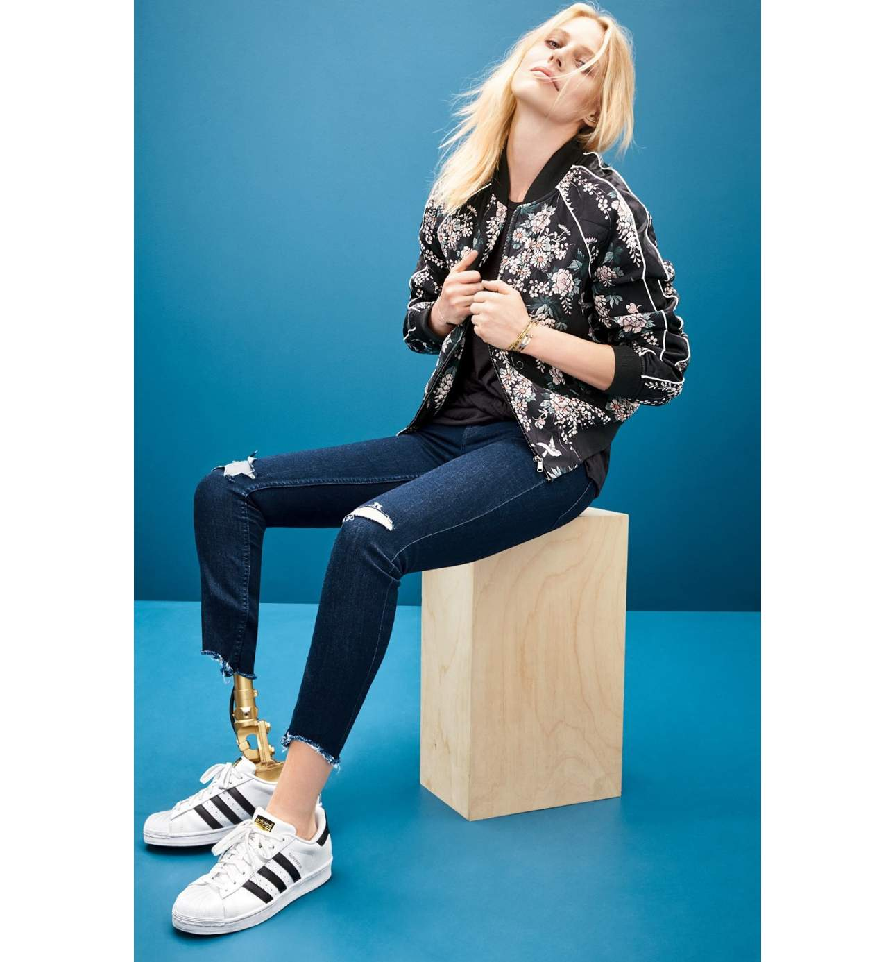 Every gal needs some comfy go-to sneaks. Pair this Adidas with just about anything - even a Spring dress.{ } Superstar Sneaker - $79.95. (Image: Nordstrom){ }