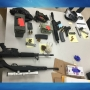 Police seize six guns and nearly 300 pounds of marijuana