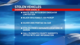 Three vehicles stolen in Akron overnight