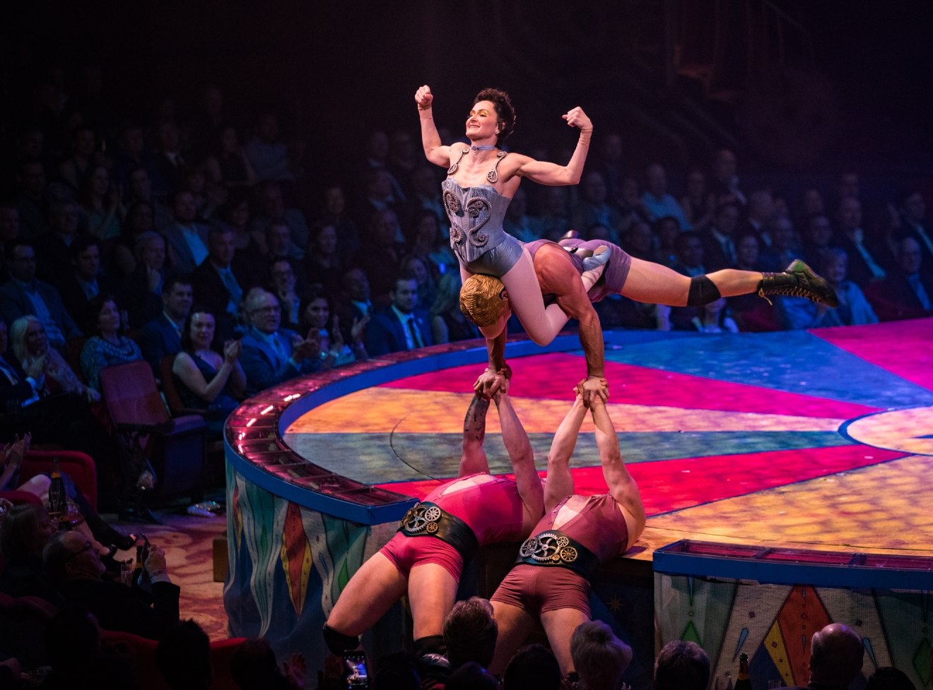 One Night for One Drop features some of the world's most daring circus acts, March 3, 2017. (Photo courtesy of Erik Kabik/ErikKabik.com)