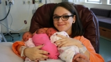 19-year-old woman gives birth to identical triplets