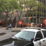 Video: Firefighters respond to reported underground electrical vault fire at AXA Towers