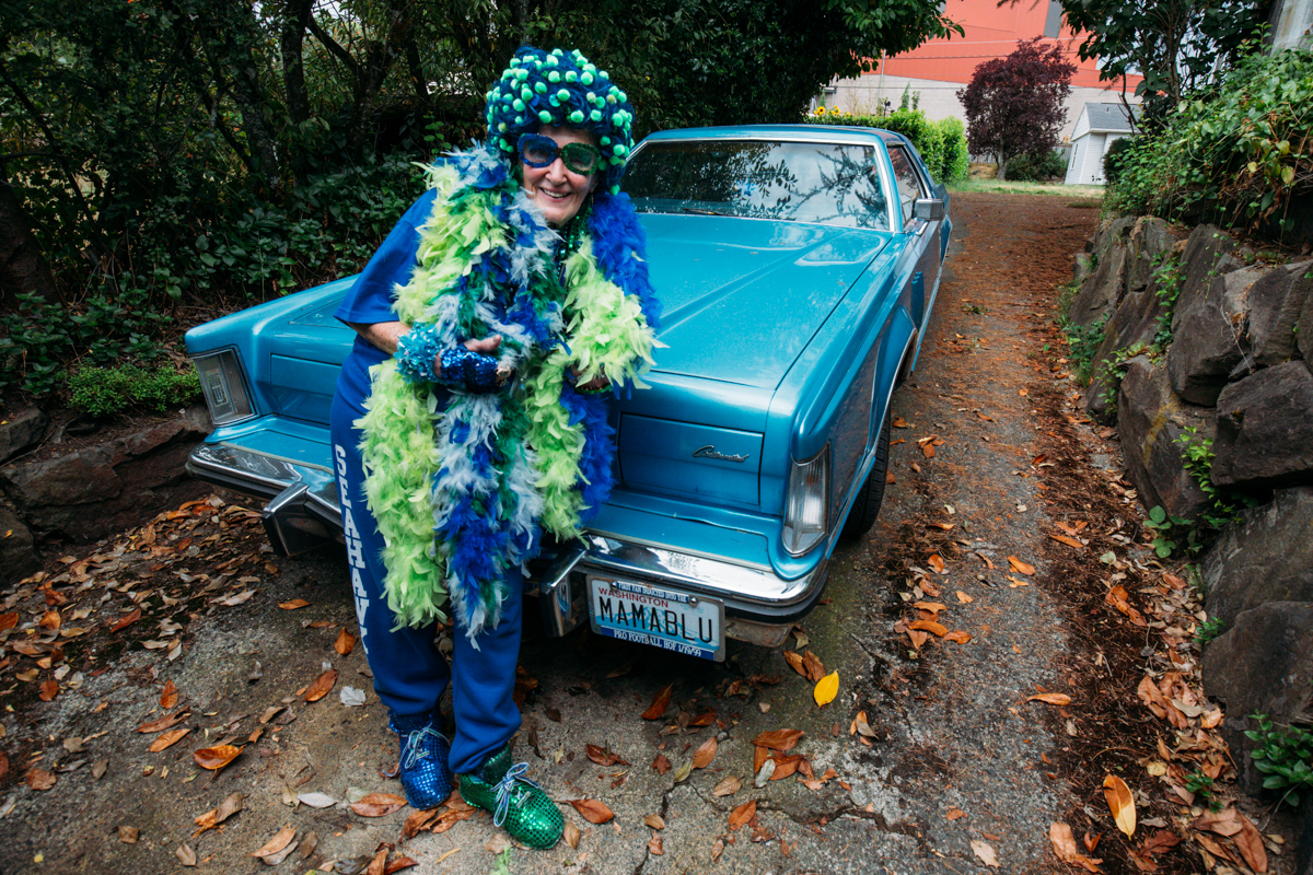 The Seahawks are back and so are their legendary fans. We can't think of a better way to start the season than a glimpse at Seattle's own Mama Blue as she gets ready for game day.  STAR 101.5 and Snoqualmie Casino are looking for more women that represent the spirit of the 12th Woman, if that's you click here to find out more. (Image: Joshua Lewis / Seattle Refined)