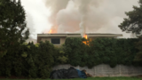 House fire damages 2 homes in Kent