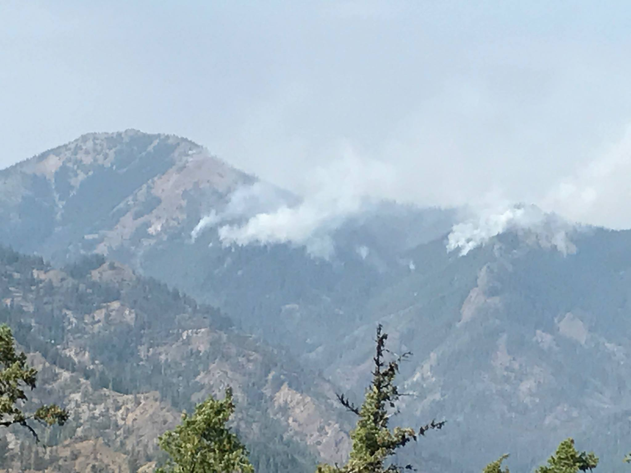 National Guard joins firefighting efforts in Jolly Mountain Fire