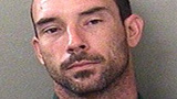 Man accused of burglary found in ditch