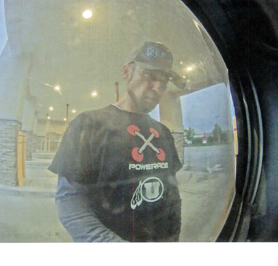 The West Jordan Police Department is seeking the public's help in identifying a man who stole over $5,000 from a victim's checking account. (Photo courtesy of West Jordan Police Department)