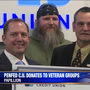 PenFed Credit Union donates to veteran groups