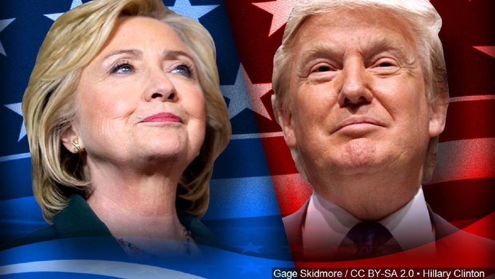 Resultado de imagen de clinton vs trump