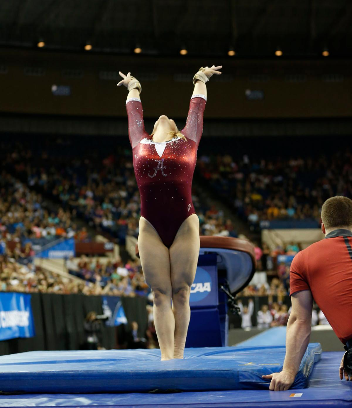 Super Six Alabama Finishes 3rd At Ncaa Women S Gymnastics