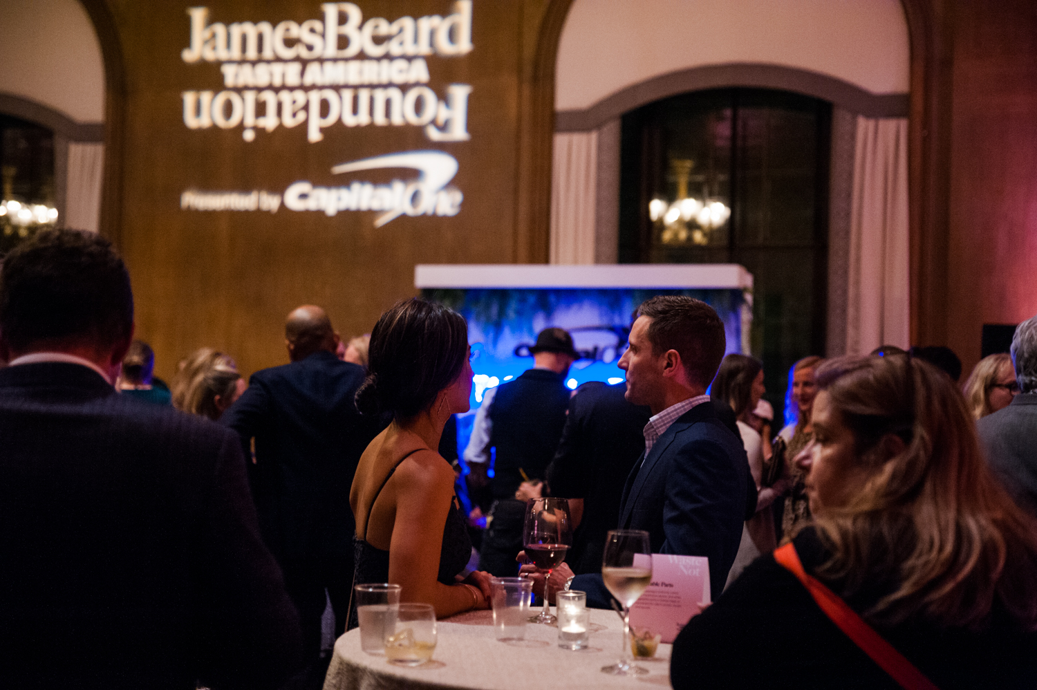 "Every year, the James Beard Foundation chooses 10 cities nationwide that the experts on their team designate as ""exciting culinary destinations"". Of course Seattle was one, and was celebrated last night (Oct. 4) at the Fairmont Olympic Hotel with a VIP reception, cocktail and tasting reception, and a dinner and dessert reception. The dinner menu will was created by Visiting All-Star Kwame Onwuachi of Kith/Kin in D.C. and our Local All-Star Rachel Yang of Joule and Revel. And if that wasn't enough chef star power for you, reception tastings are by Eric Donnelly of RockCreek, Monica Dimas of Milkwood & Co., Shiro Kashiba of Sushi Kashiba, Tiffany Layco of Andaluca, Mitch Mayers of Sawyer, Artis Kalsons of 4th. Ave. Espresso Bar, Carrie Mashaney of Mamnoon and Kit and Jesse Schumann of Sea Wolf Bakers. (Image: Elizabeth Crook / Seattle Refined)"