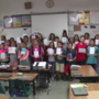Teague Elementary students send cards to Texas