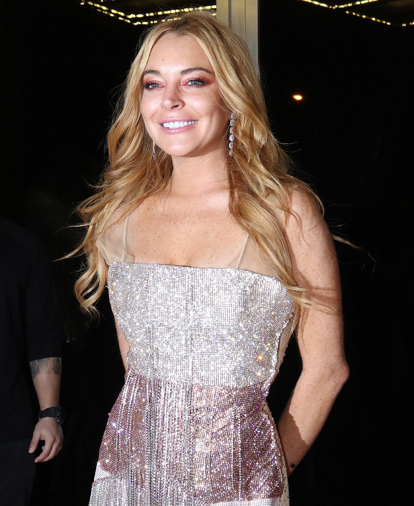 "Lindsay Lohan attends the opening of her new nightclub in Athens, Greece called 'Lohan'. A Lindsay Lohan spokesperson reportedly told TMZ that Lohan will stop by the club, co-owned by her friend Dennis Papageorgiou, a few times a month. They also said it has an ""abandoned factory"" look, a VIP section, and a VVIP section.                                                                      Featuring: Lindsay Lohan                                   Where: Athens, Greece                                   When: 15 Oct 2016                                   Credit: Papadakis Press/WENN.com                                                                      **Not available for Publication in Greece, Cyprus**"