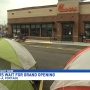 Customers camping out at Chick-Fil-A in Portage in anticipation of grand opening