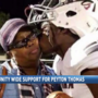 Community rallying for local HS football player who lost mom to cancer