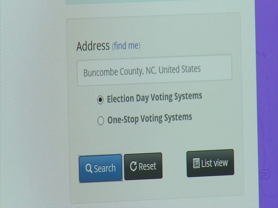 The state and county feel your vote is safe, and so far, they've only been proven correct. But across the country, the possibility of hacking is real. (Photo credit: WLOS staff)