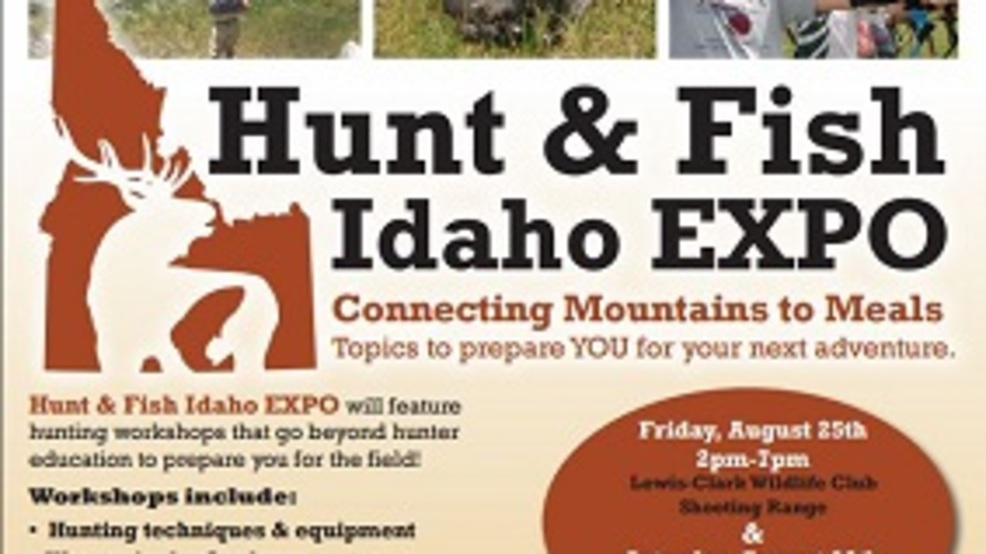 Expo for novice and expert hunters anglers klew for Idaho fish and game hunter report