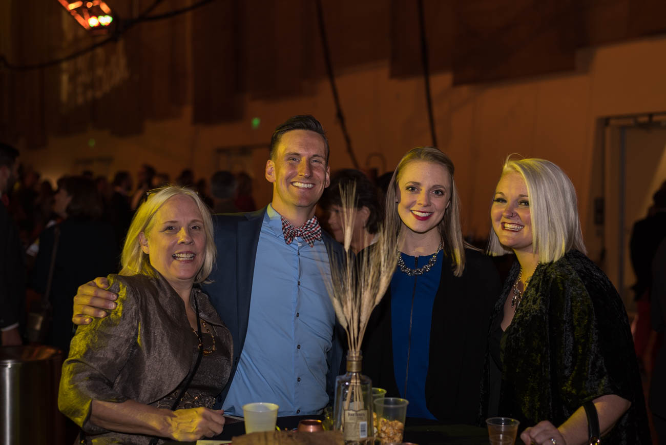 Ann, Ben, Annie, and Amy Sandfoss / Image: Mike Menke // Published: 11.11.17<p></p>