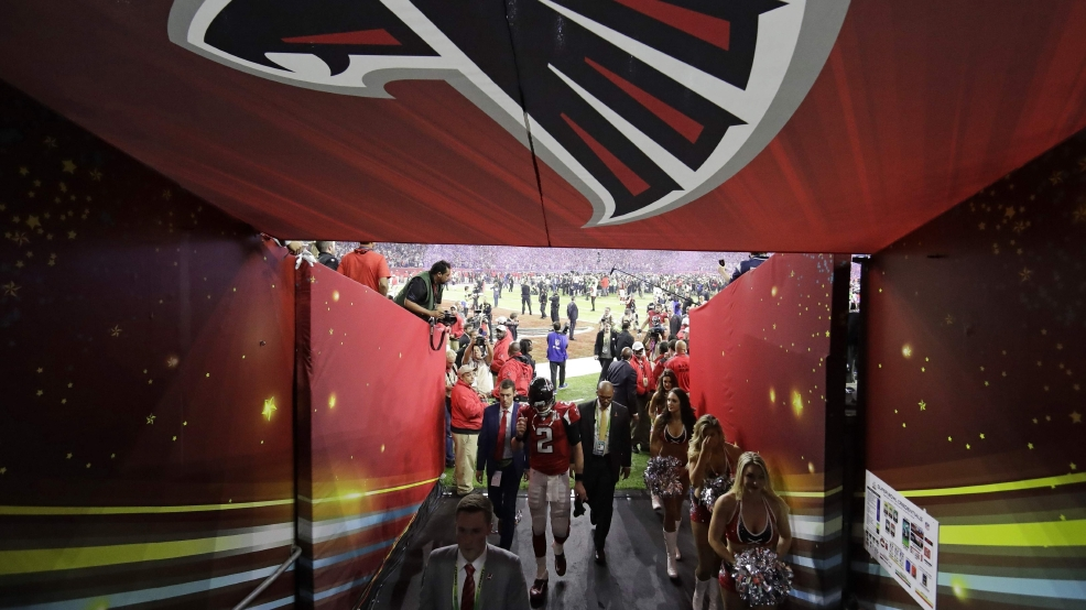 The Atlanta Falcons' Matt Ryan walks back to the locker room after their Super Bowl 51 loss to the New England Patriots in overtime Sunday, Feb. 5, 2017, in Houston. The Patriots won 34-28. THE ASSOCIATED PRESS