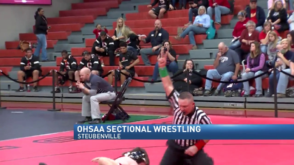 2.19.16 Video- OHSAA division 2 sectional- wrestling