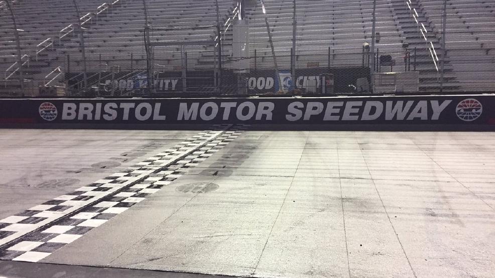 Bristol Motor Speedway Race Postponed To Monday Due To